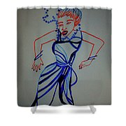 Teso Traditional Dance Uganda Shower Curtain