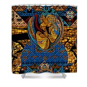 Tesserae 5 Shower Curtain