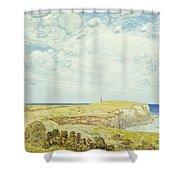 Montauk Point, 1922 Shower Curtain