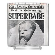 Test-tube Baby, 1978 Shower Curtain
