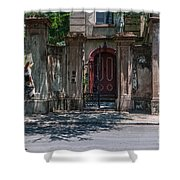 Colonial Past Shower Curtain