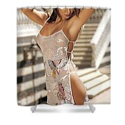 Testadrox Zumba Health Is The Aggregate Of Lively Shower Curtain