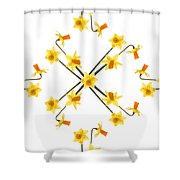 Tete A Tete    The Fabric Shower Curtain