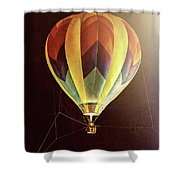 Tether Before Sunrise Shower Curtain
