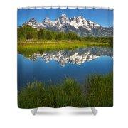 Teton Meadows Shower Curtain