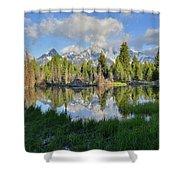 Teton Mirror Image Shower Curtain