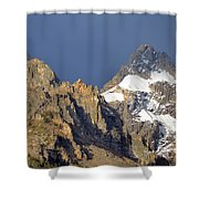 Teton Peaks Shower Curtain