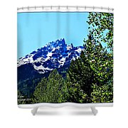 Teton Picture Perfect Shower Curtain