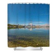 Teton Reflections Shower Curtain