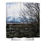 Teton Scene Shower Curtain