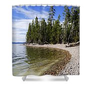 Teton Shore Shower Curtain