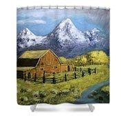 Teton Summer Shower Curtain