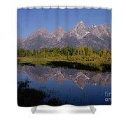 Teton Sunrise 2 Shower Curtain