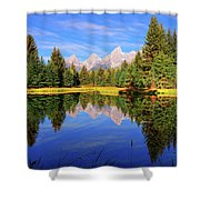 Teton Tranquility Shower Curtain