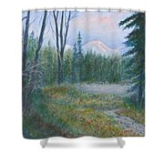 Teton Valley Shower Curtain