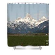 Teton Valley Shower Curtain