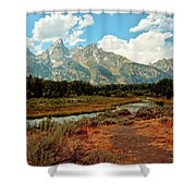Tetons Grande 5 Shower Curtain
