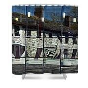 Tett Centre Reflection Shower Curtain