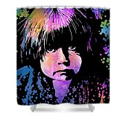 Tewa Child Shower Curtain