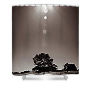Texan Sun Shower Curtain