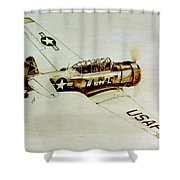 Texan T6 Shower Curtain
