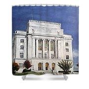 Texarkana Courthouse Shower Curtain
