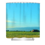 Texarkana Farm Scene Shower Curtain
