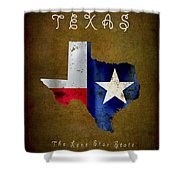 Texas ... The Lone Star State Shower Curtain
