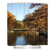 Texas Autumn Shower Curtain