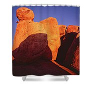 Texas Canyon Ominous Shadow Shower Curtain