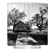 Texas Country Church Shower Curtain