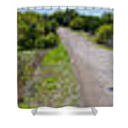 Texas Hill Country Panorama 360 Shower Curtain