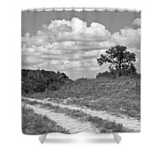 Texas Hill Country Trail Shower Curtain