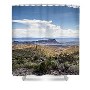 Texas Landscapes #2 Shower Curtain