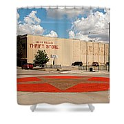 Texas Lone Star State Shower Curtain