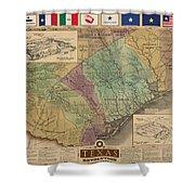 Texas Revolution Shower Curtain