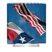 Texas Sky Shower Curtain
