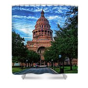 Texas State Capitol Shower Curtain