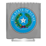 Texas State Seal Shower Curtain