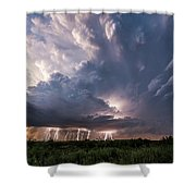 Texas Twilight Shower Curtain