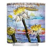 Texas Wildflowers Tp A E Shower Curtain