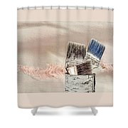 Texture Your World Shower Curtain