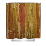 Textured Cinnamon Shower Curtain