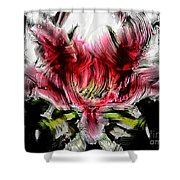 Textured Lily Shower Curtain