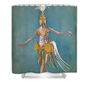 Thai Ballerina Shower Curtain