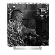 Thai Cook Shower Curtain