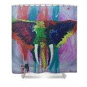 Thai Feeling 2 Shower Curtain