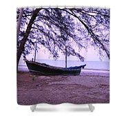 Thai Fishing Boat 04 Shower Curtain