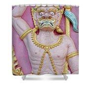 Thai Temple Art I Shower Curtain