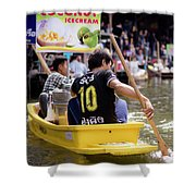 Thai Village 5 Shower Curtain